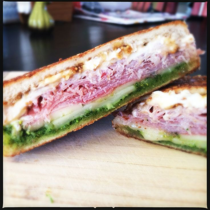 Italian Grilled Cheese- Prosciutto, Goat Cheese, Fontina Cheese, Fig ...