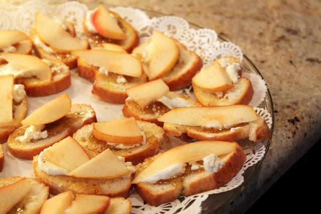 ... pear and goat cheese crostini the stir pear goat cheese crostini