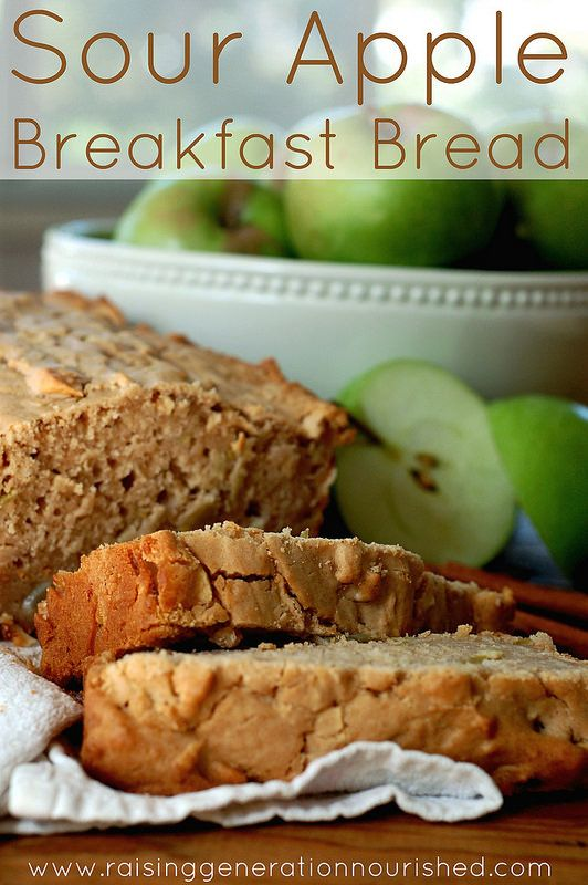 Sour Apple Breakfast Bread   For the Love of Breakfast   Pinterest