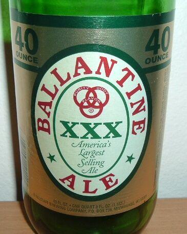 ballantine ale beer
