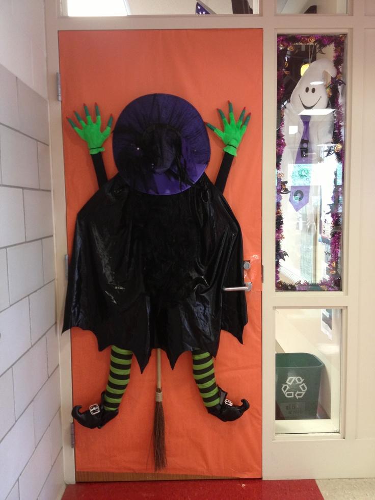 Halloween Door Halloween Pumpkin Theme Pinterest
