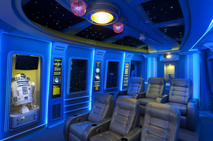 Star Wars Home Theater Science Fiction Meets Interior