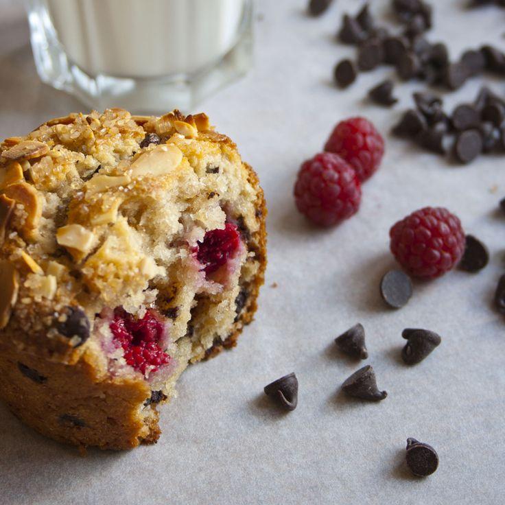 single-serve-chocolate-chip-raspberry-muffin-bite-4. Prepare the ...