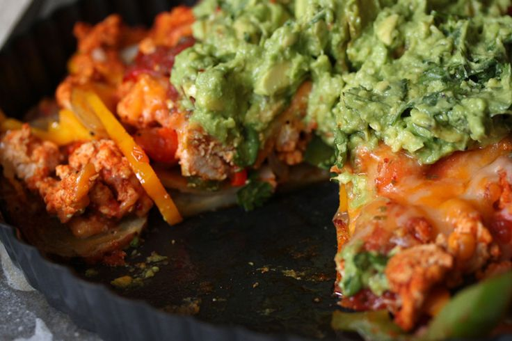 Irish Nachos with Guacamole   Recipe