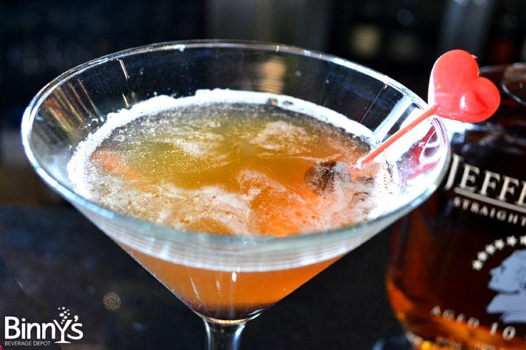 ... : Manhattan Love Story #Whiskey #cocktail #ValentinesDay #DIY