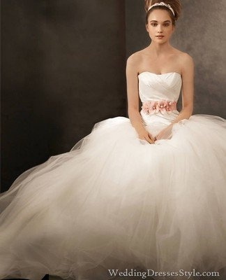 Pin by emily forrest on forever could never be long enough for Vera wang princess ball gown wedding dress