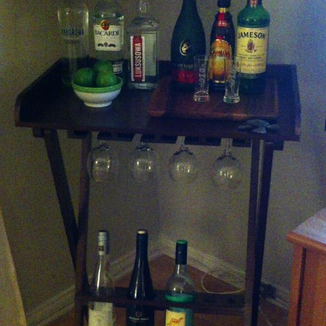 my mini bar apartment things pinterest