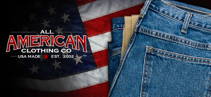 All american clothing company get to know us pinterest