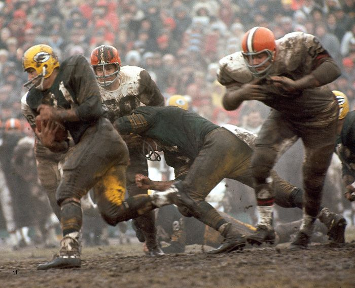 Green Bay Packers vs. Cleveland Browns, 1966.