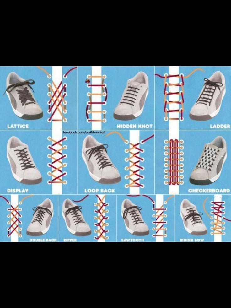 Shoe tying