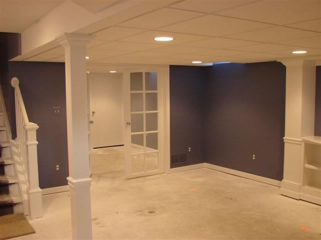 Finished basements dream home ideas pinterest for Images of finished basements
