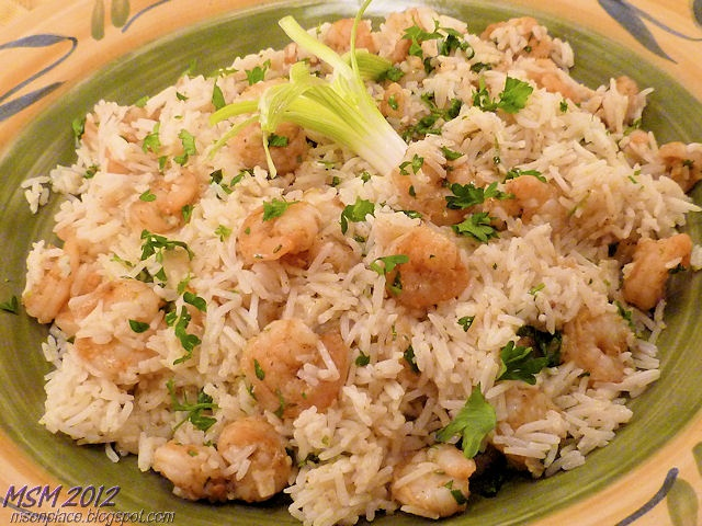 Shrimp Biryani | Recipes - Seafood | Pinterest