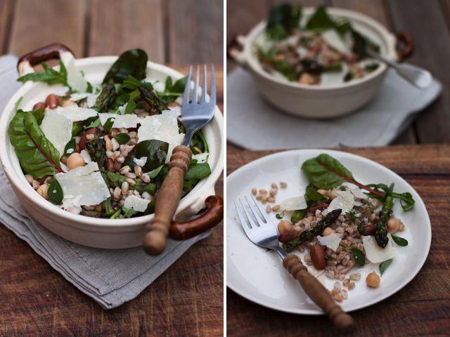 Mushroom, Farro And Fontina Salad Recipes — Dishmaps