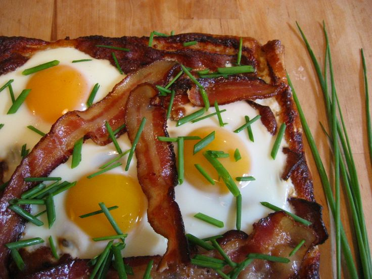 Bacon and Egg Breakfast Tart | Recipe