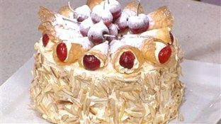 Phil Vickery's cherry gateau... This multi-layered extravaganza ...