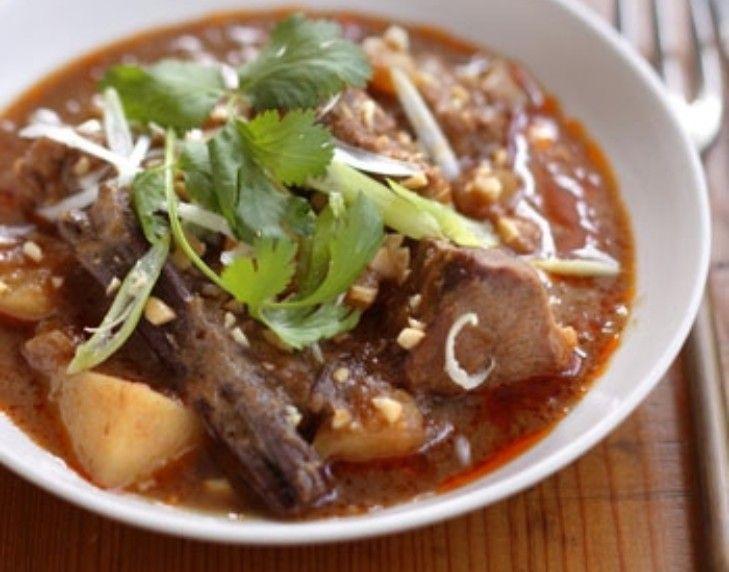 Massaman curry | Recipes | Pinterest