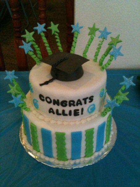 fondant graduation cakes
