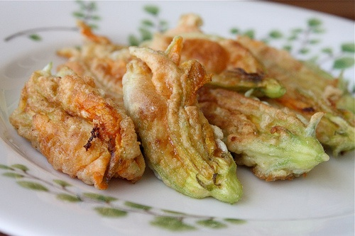 Cheese Stuffed Zucchini Flowers | My Name is Ashlee and I'm a Yumahol ...