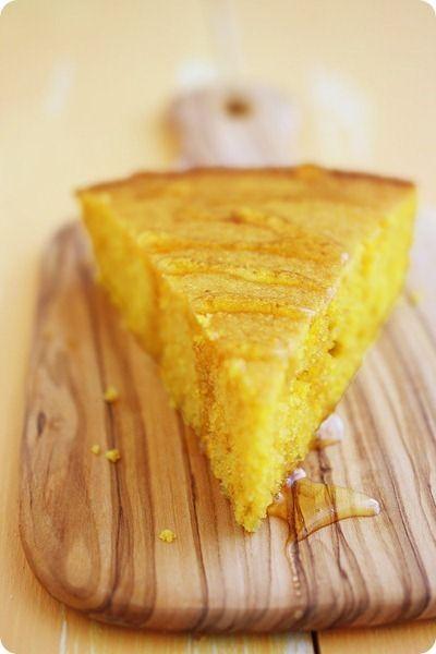 Pumpkin Honey Cornbread | Amarillo ~ Mellow Yellow | Pinterest