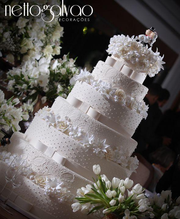 decoracao branca casamento:Decoração de casamento branca.