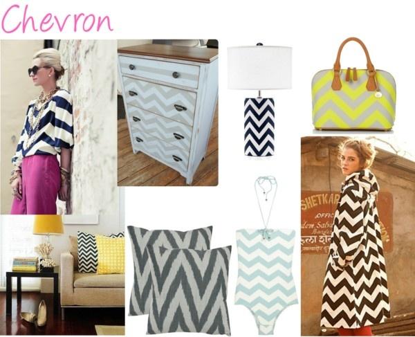Chevron stripes!