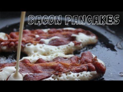 Easy bacon pancakes | Breakfast. | Pinterest