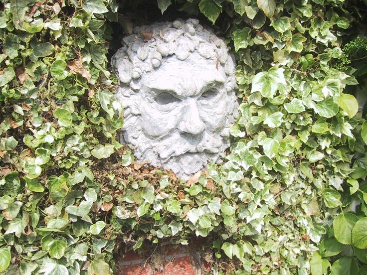 Green Man - Our Garden | Garden Ornaments | Pinterest