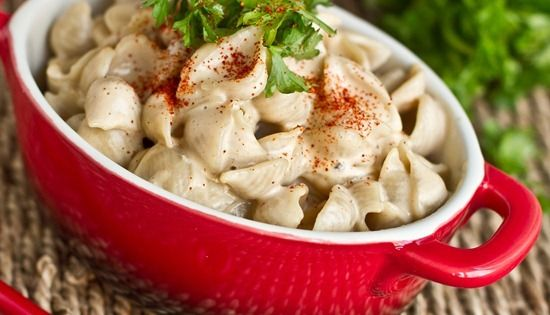 Quick and Easy Vegan Alfredo | Food Horny | Pinterest