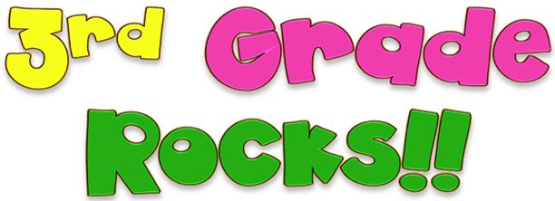 Image result for 3rd grade rocks!