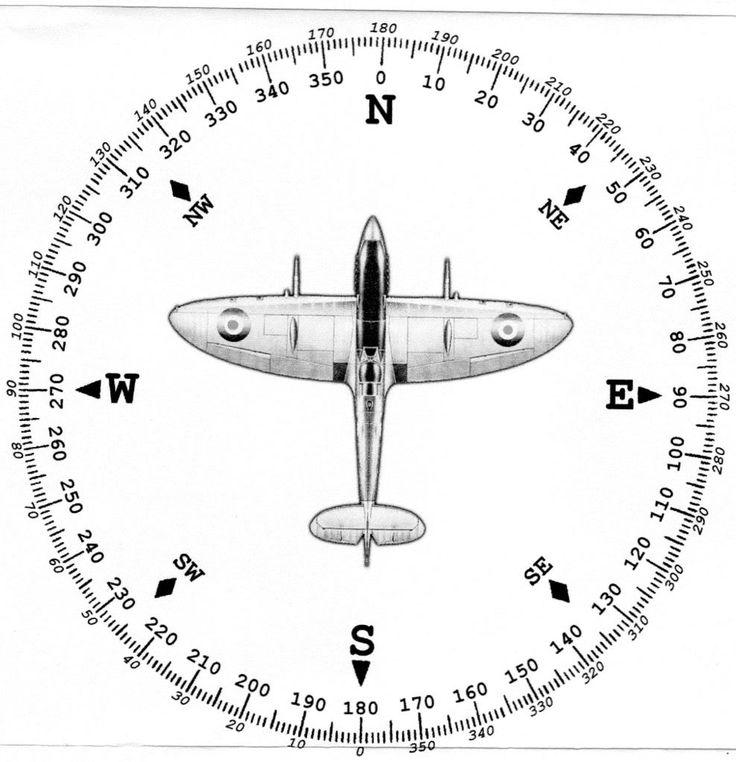how to make a compass rose