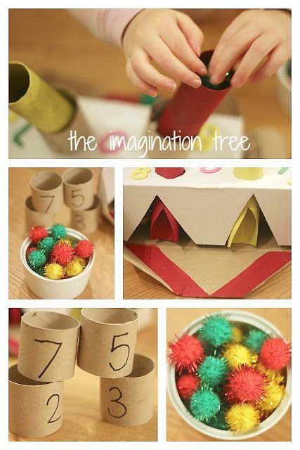 Make a fun machine to teach kids about addition in a playful way!