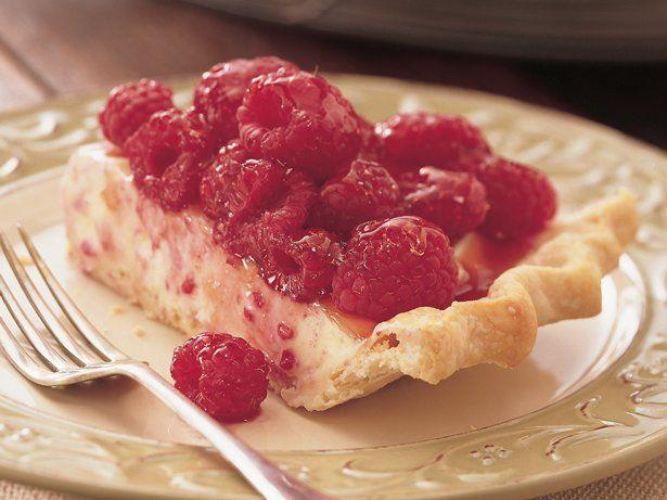 White Chocolate Mousse Raspberry Pie | Recipe