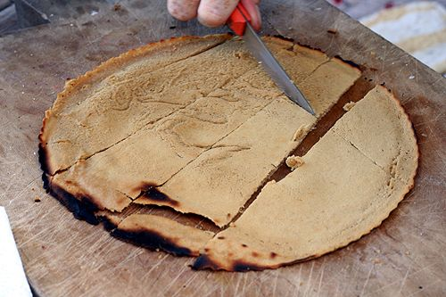 Socca - Chickpea (Garbanzo) flour flat bread/pancake type bread ...