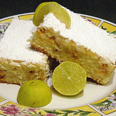 Key Lime White Chocolate Bars | Desserts and drinks | Pinterest