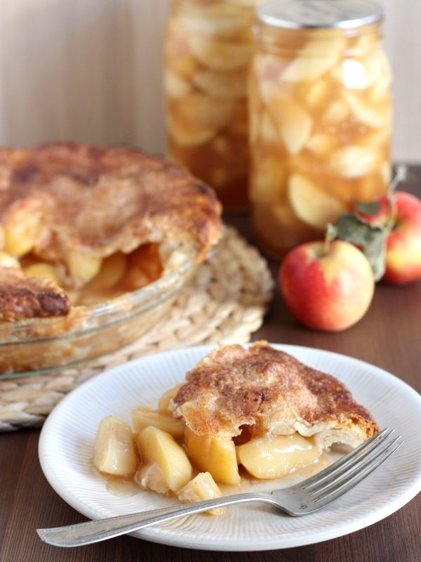 Homemade Apple Pie Filling for Canning   Food   Pinterest