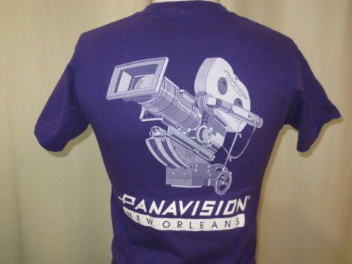 Rare PANAVISION New Orleans camera t-shirt size small