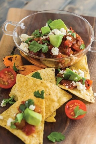 Roasted Chipotle Chocolate Salsa from Dove Chocolate Discoveries