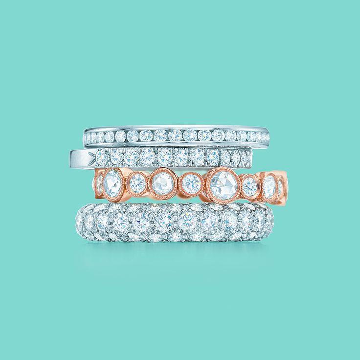 Tiffany Novo Band Ring Rose Gold