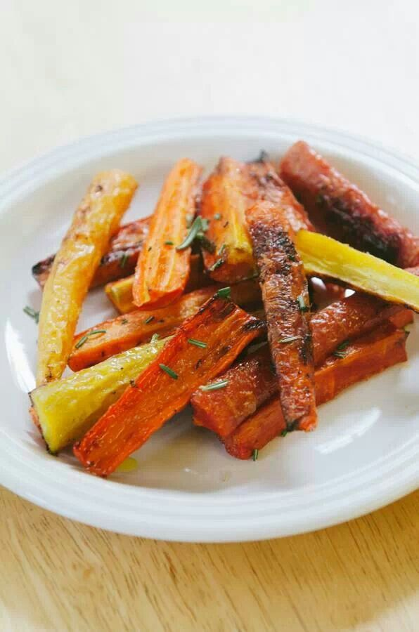 Bourbon and Honey Glazed Carrots | Culinary | Pinterest