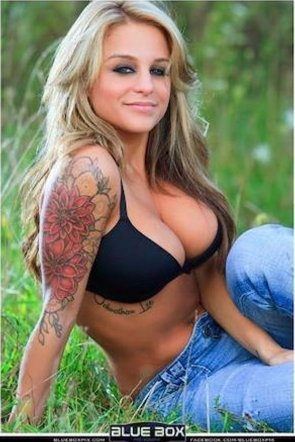 Hot girls half sleeve tattoos car pictures