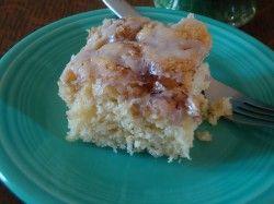 Buttery Cinnabun Cake | recipes | Pinterest