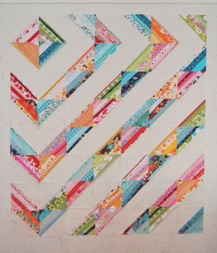 modern string quilt | Quilt | Pinterest