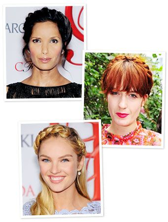 Looking for an easy warm-weather hairstyle? Try variations of the milkmaid braid, as seen on #PadmaLakshmi, #FlorenceWelch, and #CandiceSwanepoel. http://news.instyle.com/2012/06/08/milkmaid-braid-crown-celebrity-how-to/