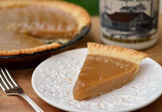Maple Pie | Food and Drink | Pinterest