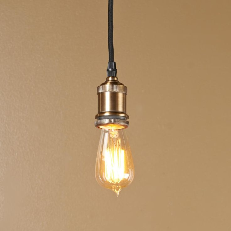 edison socket pendant light. Black Bedroom Furniture Sets. Home Design Ideas