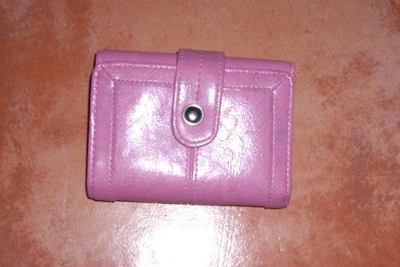 Cute Pink Billfold by ShabbyBuyDesign on Etsy, $10.00
