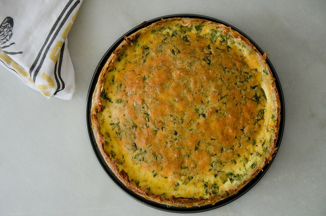 gruyere and pancetta quiche with hash-brown crust by sassyradish, via ...