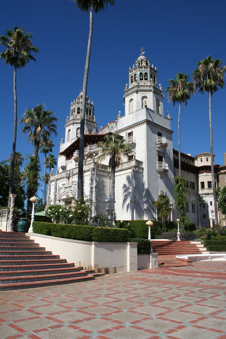 Hearst Castle San Simeon California Lives Of The
