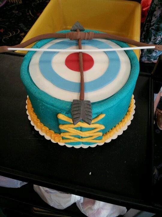 """BRAVE "" cake"