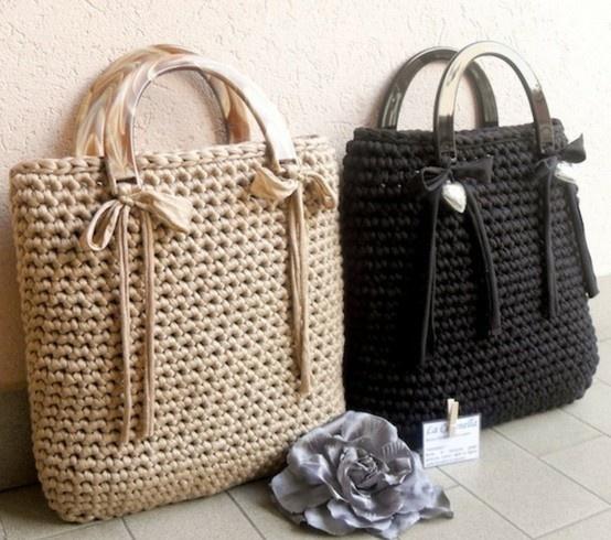 Cute Crochet Bag : purses..cute!